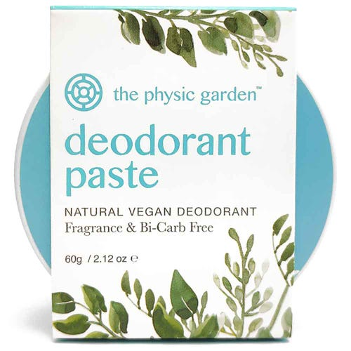 The Physic Garden Fragrance & Bi-Carb Free Deodorant (60g)