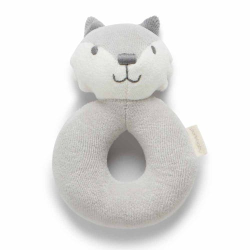 Purebaby Fox Rattle