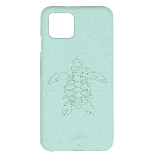 Pela Phone Case Google Pixel 4 - Ocean Turquoise Turtle Edition