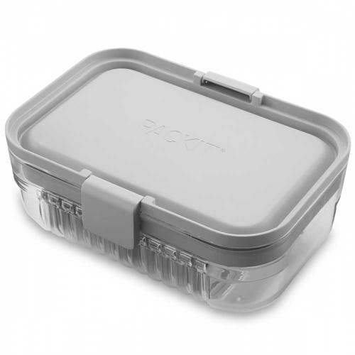 PackIt Mod Bento Lunch Box - Steel Gray