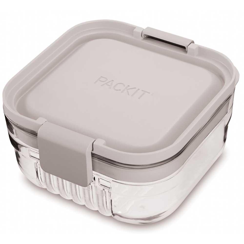 PackIt Mod Bento Snack Box - Steel Gray