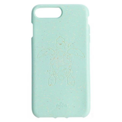 Pela Phone Case iPhone 6+/6s+/7+/8+ - Ocean Turquoise Turtle Edition