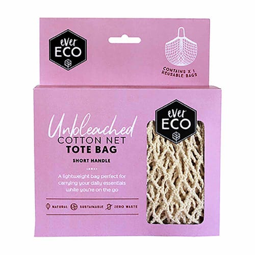 Ever Eco Cotton Net Tote Bag Short Handle