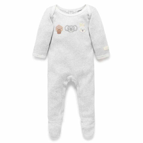 Purebaby Growsuit - Bush Babies