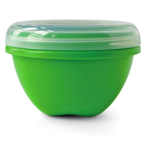 Preserve Food Container Large & Round - Green (1 Unit)