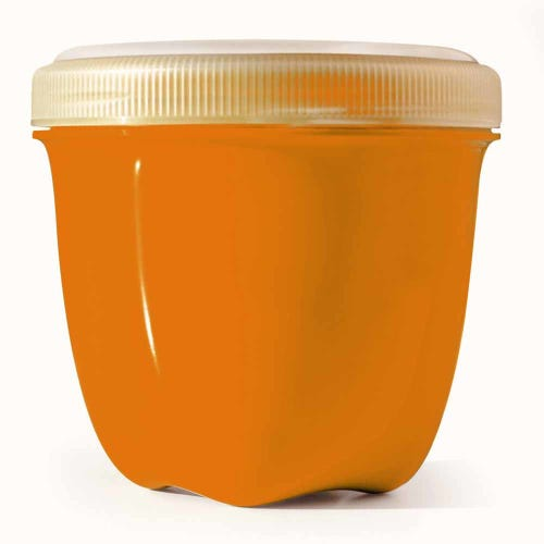 Preserve Food Container Mini - Orange (1 Unit)