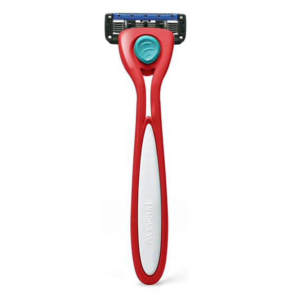 Preserve Shave 5 Razor - Red