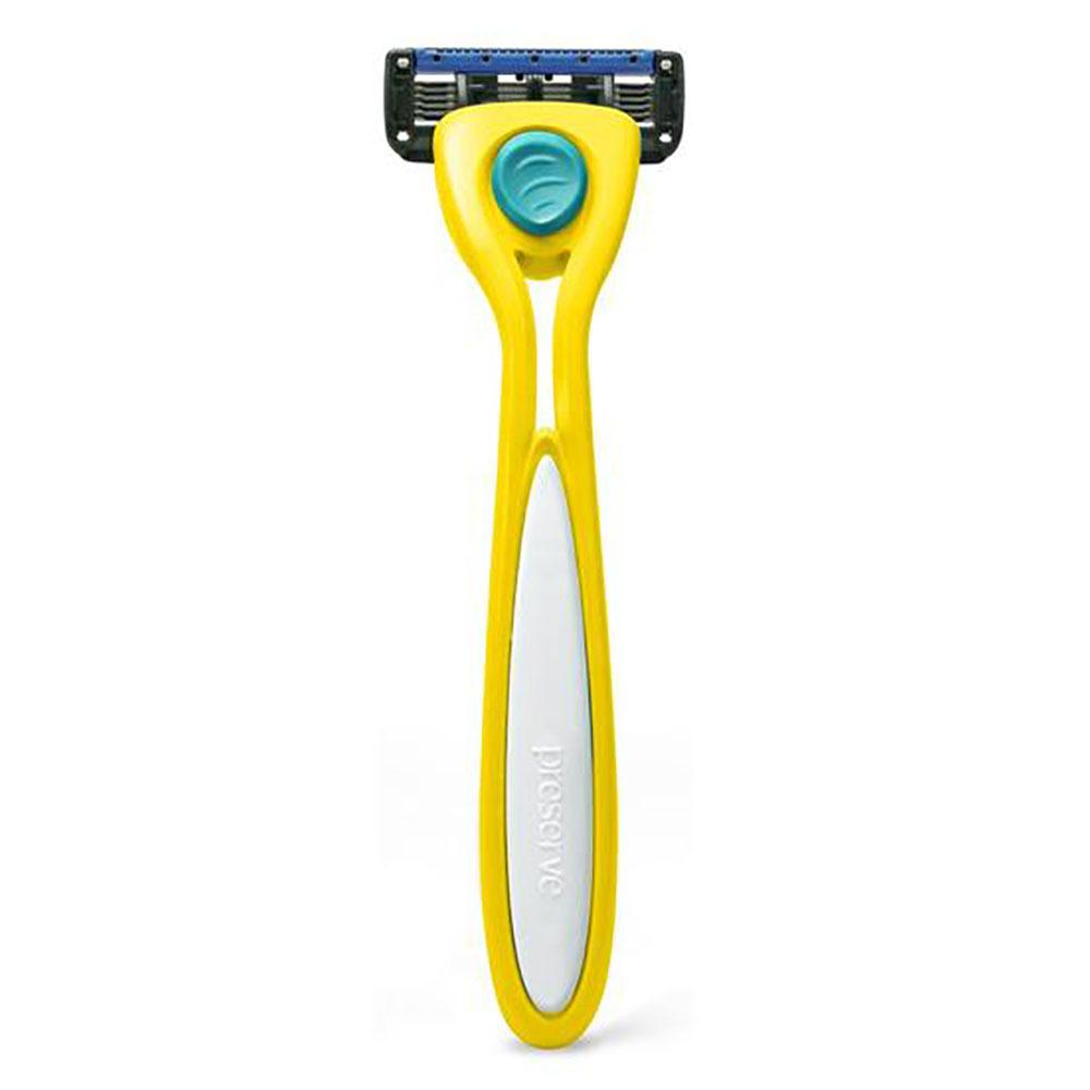 Preserve Shave 5 Razor - Yellow