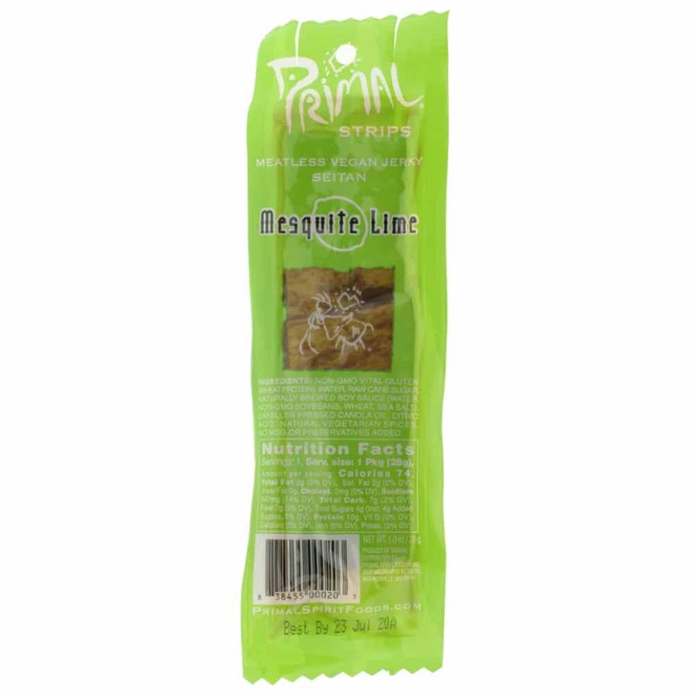Primal Strips Mesquite Lime Vegan Jerky (28g)