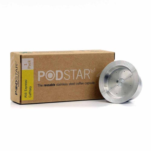 Pod Star Reusable Aldi K-fee Caffitaly Coffee Capsule Single