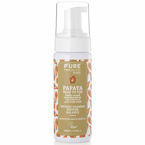 P'ure Papayacare - Papaya Head to Toe Wash (150ml)