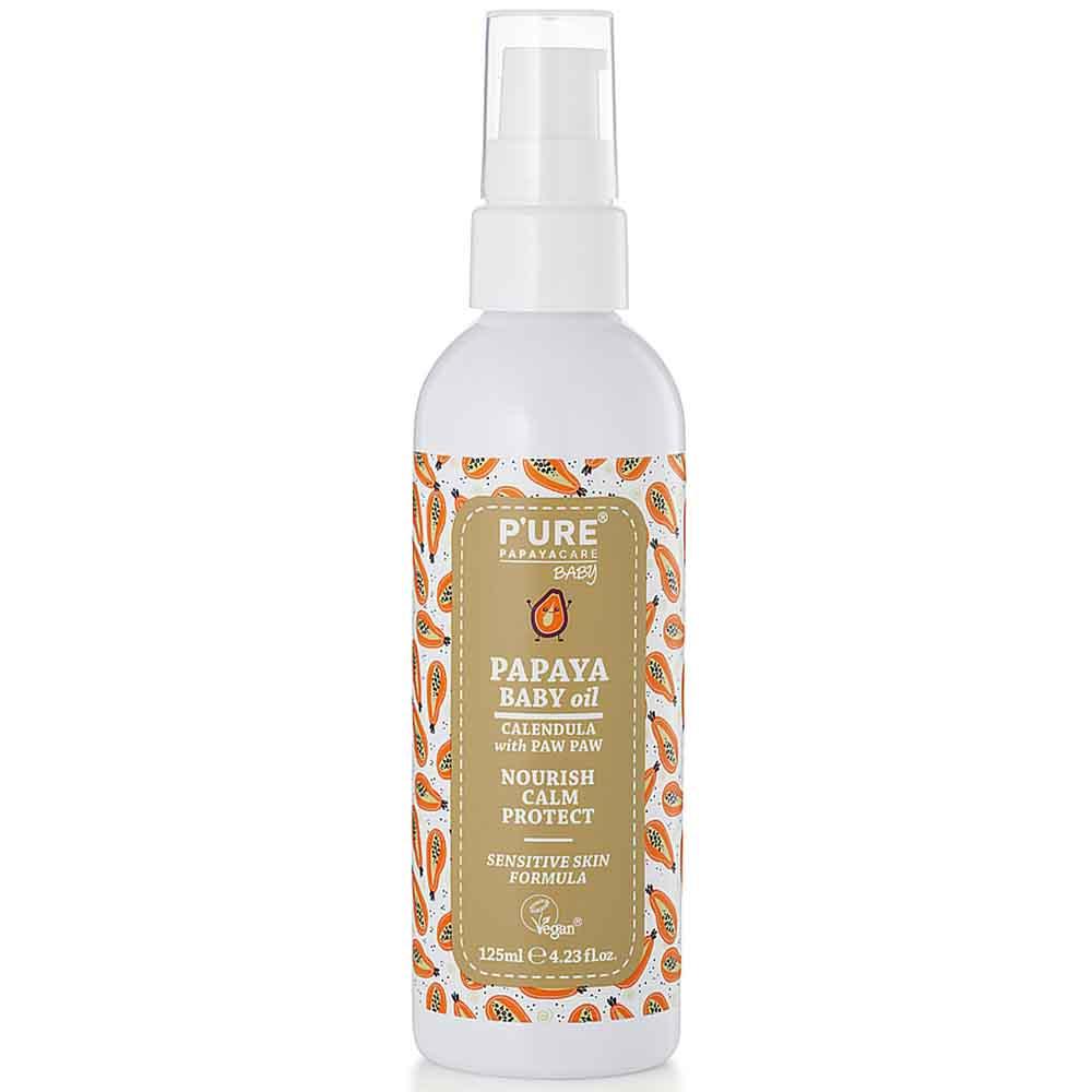 P'ure Papayacare - Papaya Baby Oil (125ml)