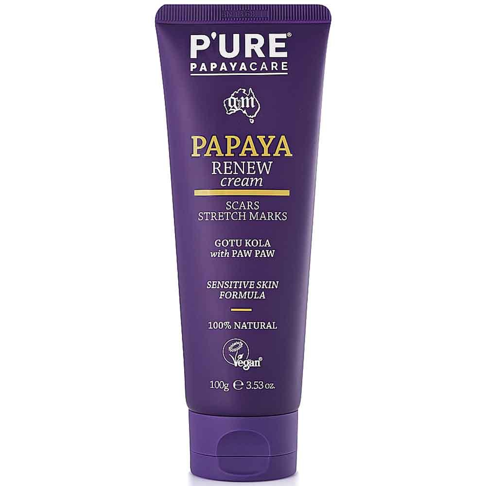 P'ure Papayacare - Papaya Renew Cream (100ml)