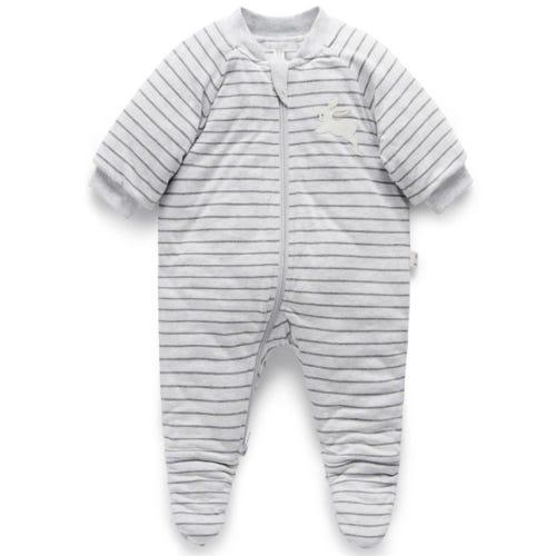 Purebaby Comfort Suit - Grey Melange
