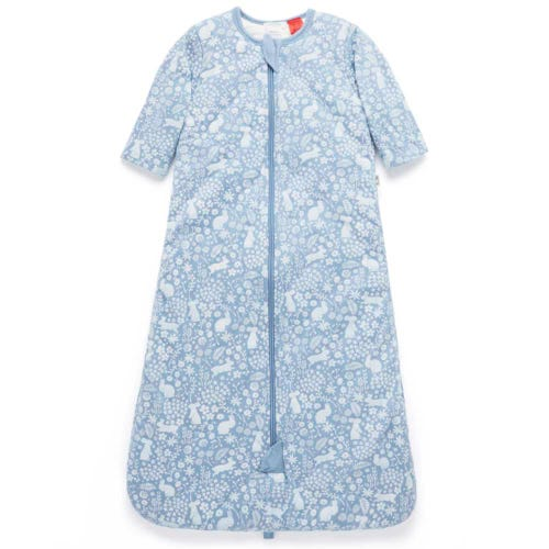 Purebaby Long Sleeve Sleepbag 3 TOG - Garden Bunny