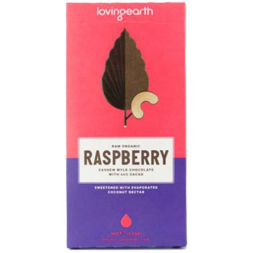Loving Earth Raspberry Organic Chocolate (80g)