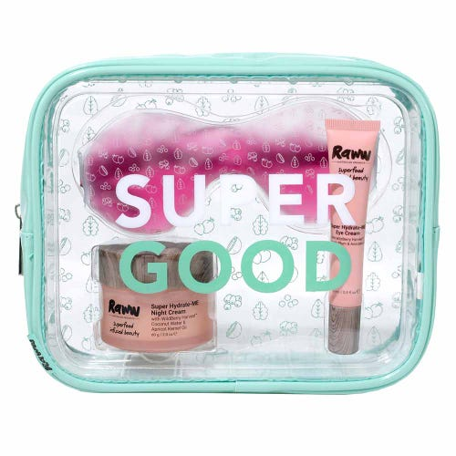 Raww Super Good Glowy Skincare Pack