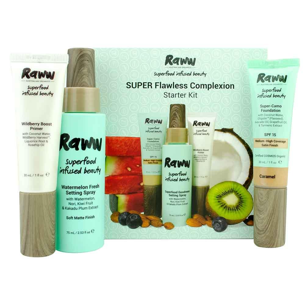 Raww Super Flawless Complexion Kit - Dark