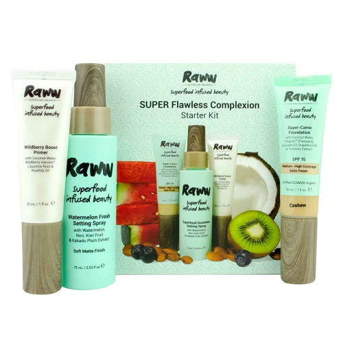 Raww Super Flawless Complexion Kit - Medium