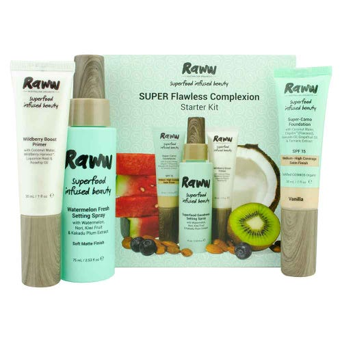 Raww Super Flawless Complexion Kit - Light