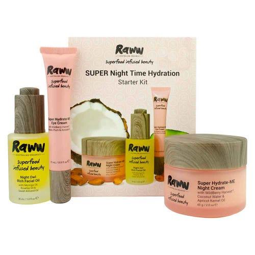 Raww Super Night Time Hydration Kit