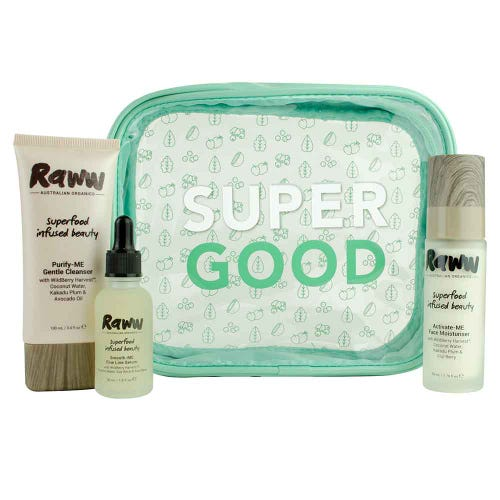 Raww Super Skin Saviours Kit