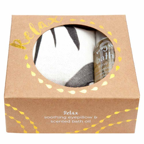 Wheatbags Relax Gift Pack Gum Black