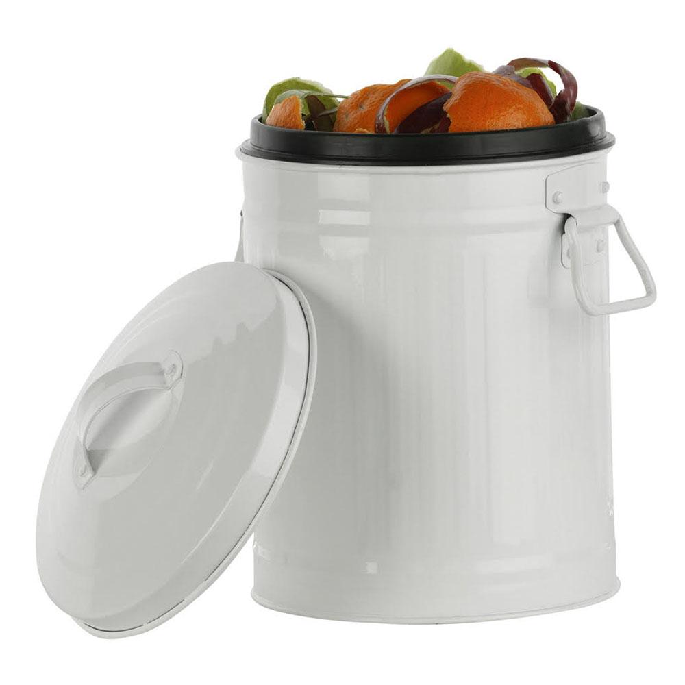 Retro Kitchen Kitchen Compost Bin