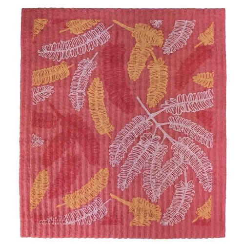Retro Kitchen Biodegradable Dish Cloth Poinciana (1 Cloth)
