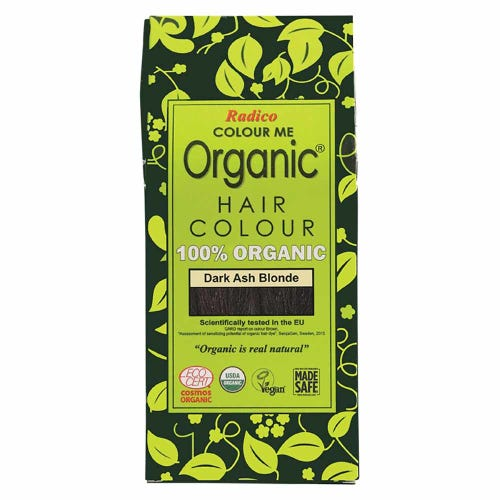 Colour Me Organic Hair Dye Dark Ash Blonde (100g)