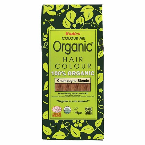 Colour Me Organic Hair Dye Champagne Blonde (100g)