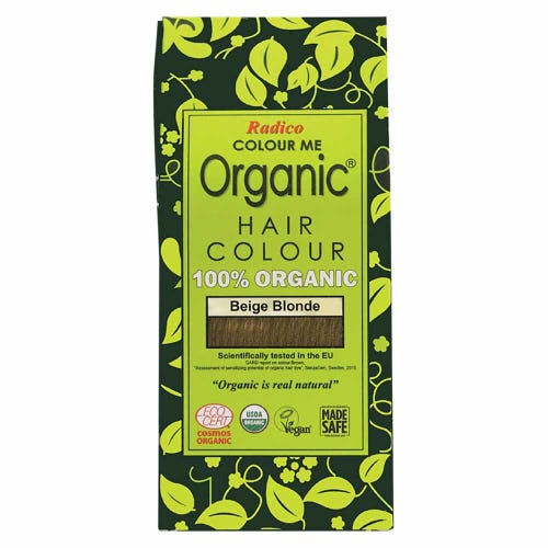 Colour Me Organic Hair Dye Beige Blonde (100g)