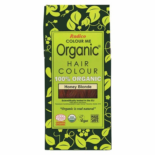 Colour Me Organic Hair Dye Honey Blonde (100g)