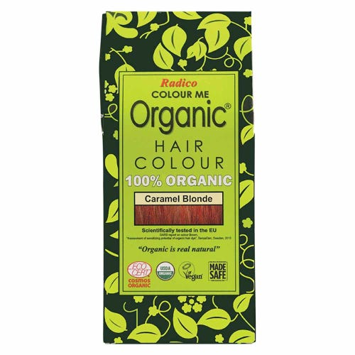Colour Me Organic Hair Dye Caramel Blonde (100g)