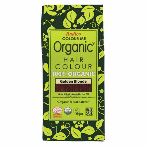 Colour Me Organic Hair Dye Golden Blonde (100g)