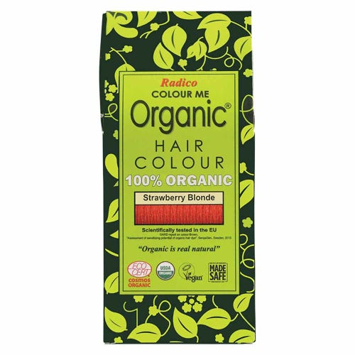 Colour Me Organic Hair Dye Strawberry Blonde (100g)