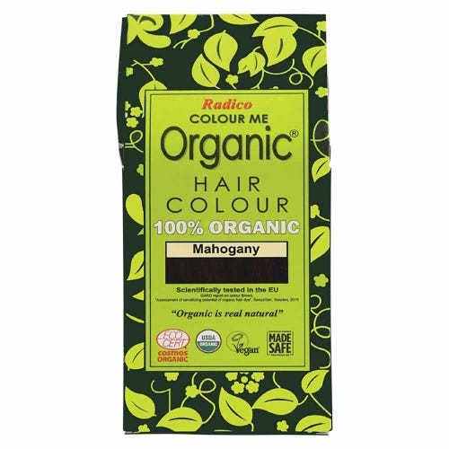 Colour Me Organic Hair Dye Mahogany (100g)