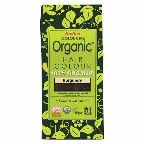 Colour Me Organic Hair Dye Burgundy (100g)