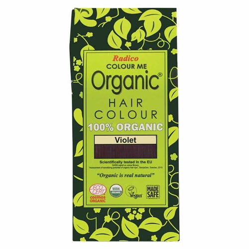 Colour Me Organic Hair Dye Violet (100g)