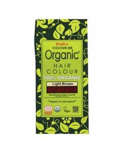 Colour Me Organic Hair Dye Light Brown (100g)