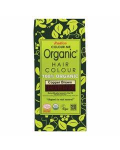 Colour Me Organic Hair Dye Copper Brown (100g)
