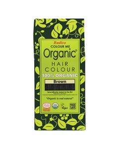 Colour Me Organic Hair Dye Brown (100g)