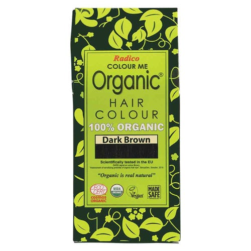 Colour Me Organic Hair Dye Dark Brown (100g)