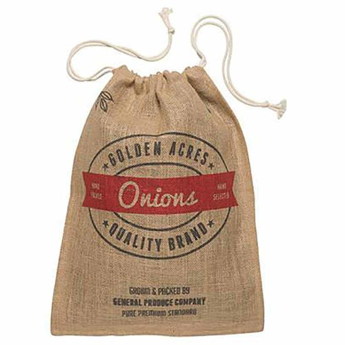 Retro Kitchen Produce Sack Onions