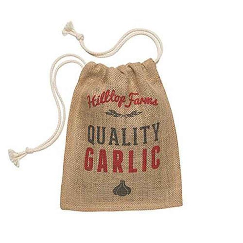 Retro Kitchen Produce Sack Garlic