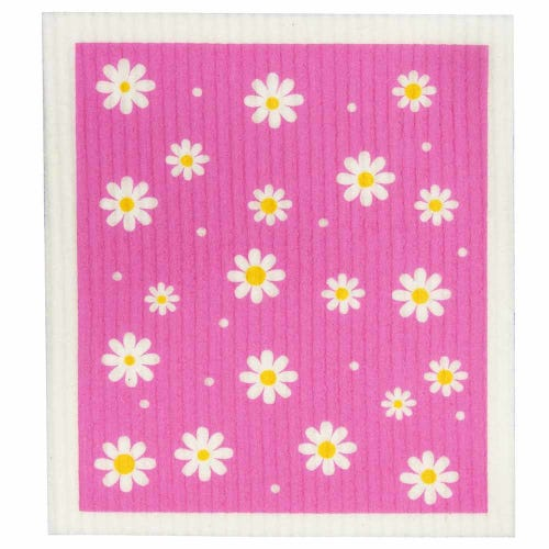 Retro Kitchen Biodegradable Dish Cloth Daisy (1 Cloth)