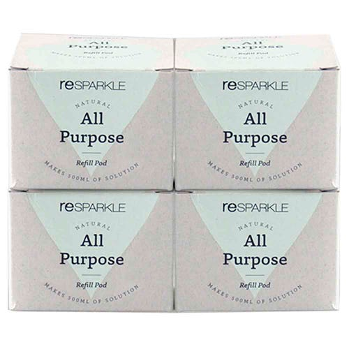Resparkle All Purpose Cleaner Refill Pod 4 Pack