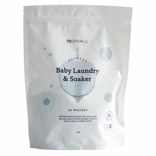 Resparkle Natural Baby Laundry Powder & Soaker (60 washes)