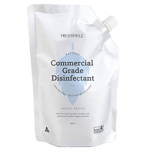Resparkle Disinfectant Refill Pouch (500ml)