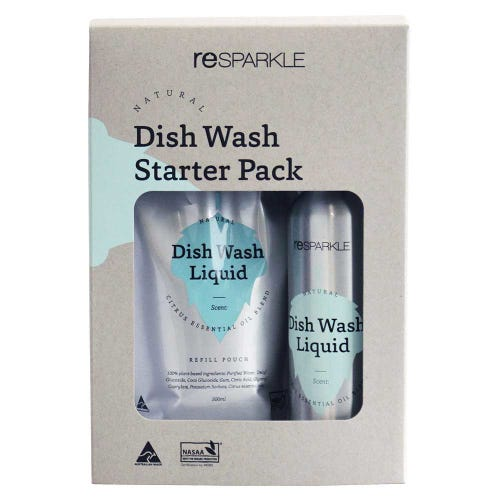 Resparkle Dish Wash Liquid Starter Pack